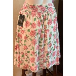 Nicole by Nicole Miller Skirt Large NWT